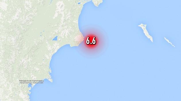 Se registra un terremoto de magnitud 6,6 en la península rusa de Kamchatka