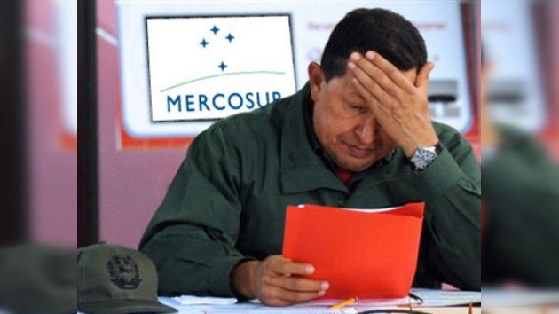 Chávez no irá a la cumbre del Mercosur