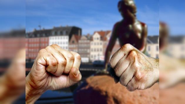 Enfrentamientos en Dinamarca entre chechenos y afganos
