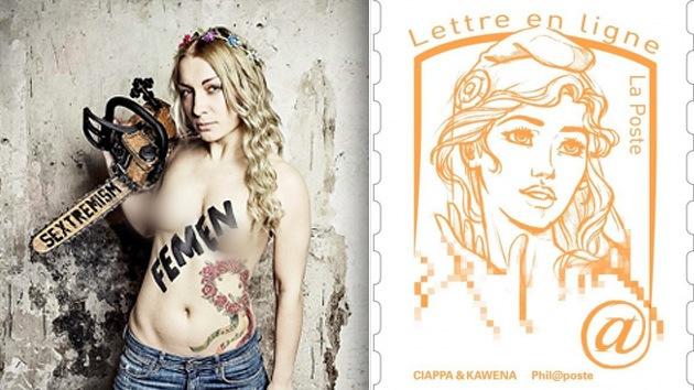 La fundadora de Femen inspiró la nueva imagen de Marianne, el símbolo de Francia