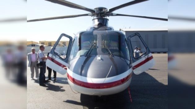 Medvédev no descarta el uso de helicópteros en lugar de coches en el futuro