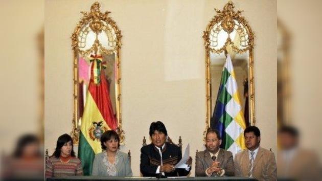 Morales pone fin al conflicto con los indígenas y renuncia a la carretera