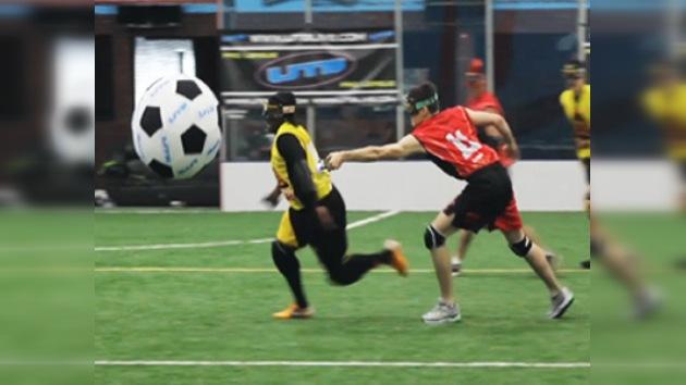El Ultimate Tazer Ball, fútbol de 'alto voltaje'