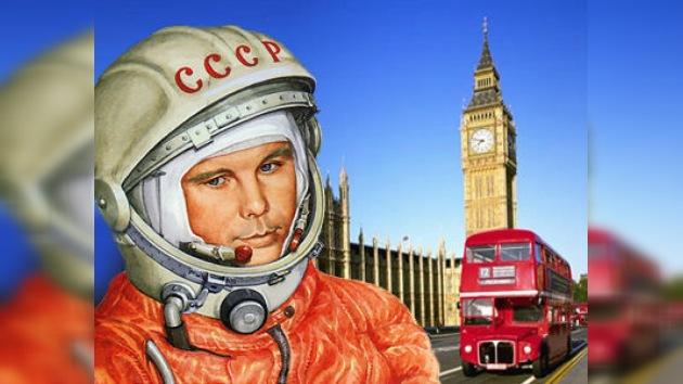 La estatua de Gagarin decorará la capital británica