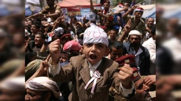 Los niños en las revueltas árabes