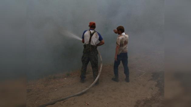 Voluntarios organizan una campaña de ayuda a las víctimas de los incendios