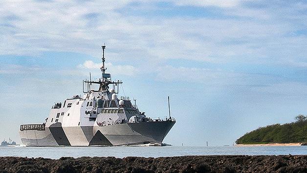Freedom, barco estadounidense de combate litoral, llega al Pacífico