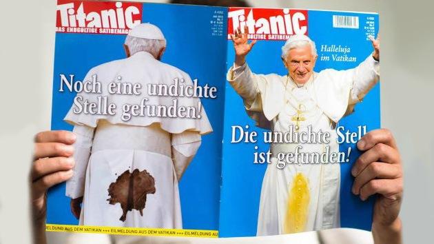 El Vaticano demanda a una revista alemana por 'manchar' al Papa