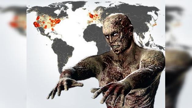 ¿Dónde se acumulan más zombis?