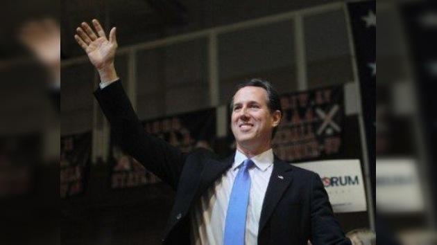 'Supermartes': Romney y Santorum con paso firme en la campaña republicana