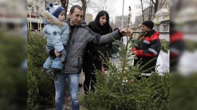 Árboles navideños artificiales, enemigos por naturaleza