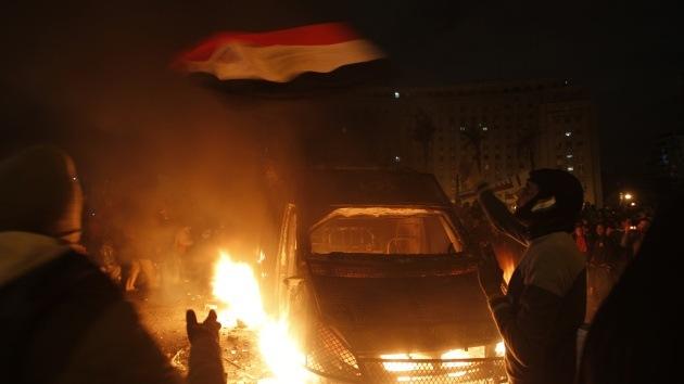 Nueva ola de protestas masivas deja dos muertos en Egipto