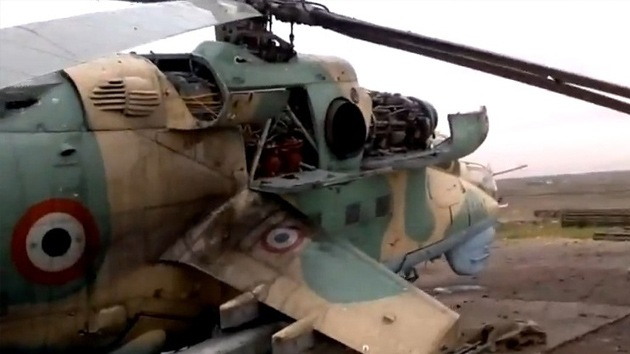 Turquía informa que derribó un helicóptero sirio