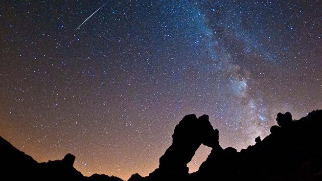 Una singular 'lluvia de estrellas' cae sobre la Tierra estos días