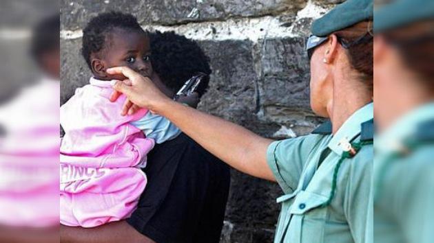 Interceptadas ocho pateras con 147 inmigrantes en las costas españolas