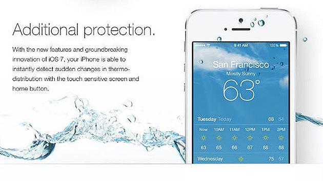 Una broma sobre la resistencia al agua de los iPhone arruina varios teléfonos Apple