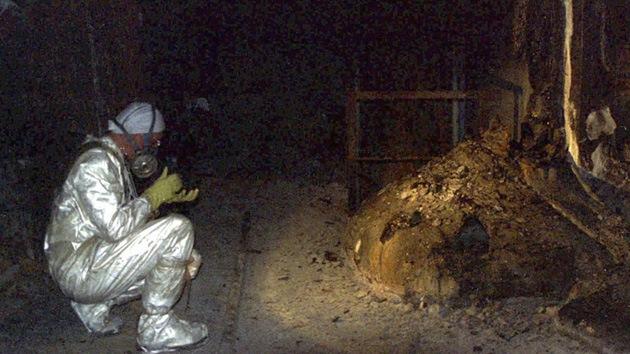 La 'pata de elefante' radiactiva de Chernóbyl, ¿el residuo más peligroso del planeta?