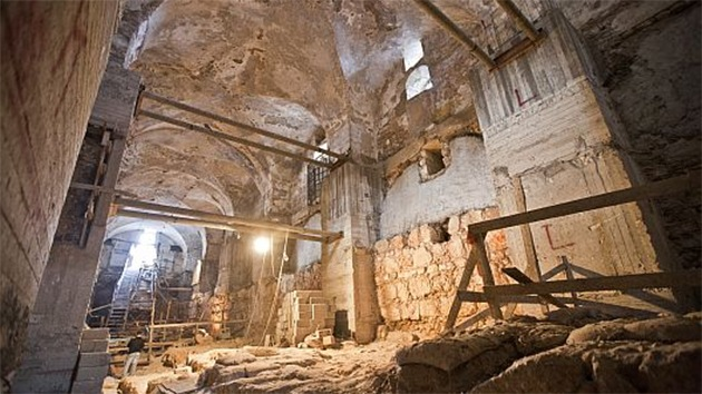 Hallan un mensaje oculto del siglo VIII antes de Cristo en una cárcel del viejo Jerusalén