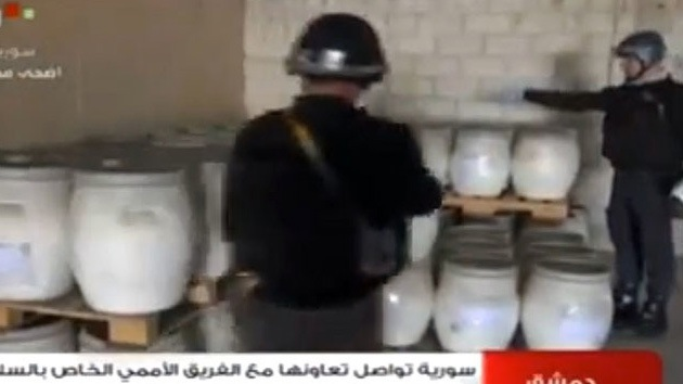 Rusia contribuirá a transportar las armas químicas de Siria para su destrucción