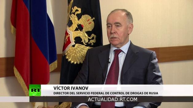 Entrevista con Víctor Ivanov,  director del Servicio Federal de Control de Drogas de Rusia