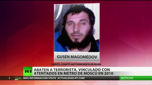 Cae el último terrorista relacionado con los atentados en el metro de Moscú