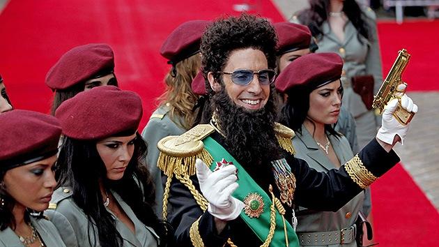 El actor Baron Cohen llega a un acuerdo con el palestino a quien calificó de 'terrorista'