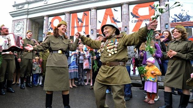 Los rusos, una nación feliz