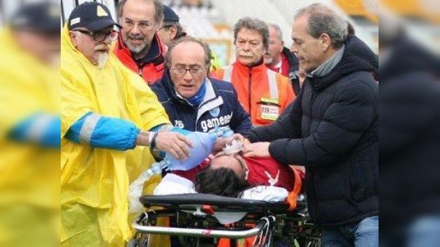 Un futbolista de la liga italiana muere de un fallo cardíaco en pleno partido