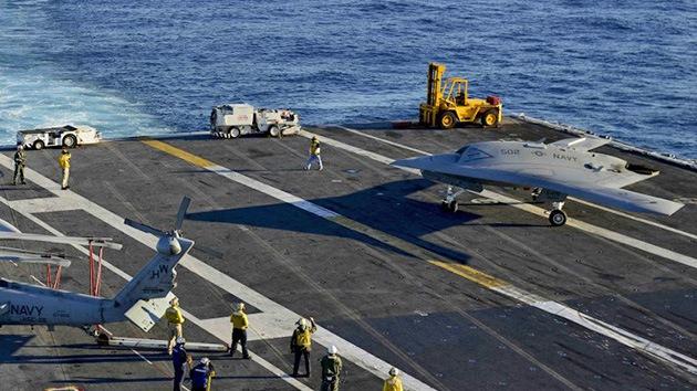La Marina de EE.UU. elige su 'drone' de ataque