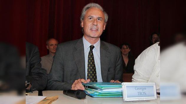 Acusan al exministro francés Georges Tron de violación y acoso sexual