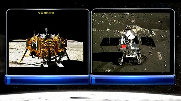 El explorador chino envía sus primeras fotos desde la Luna
