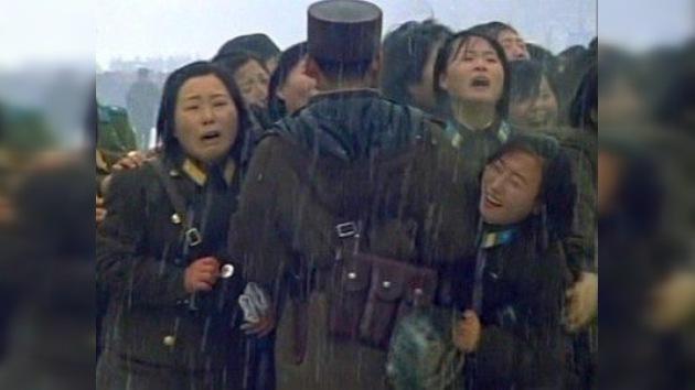 Corea del Norte despide a Kim Jong-Il entre sollozos