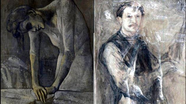 Bajo el lienzo 'Mujer planchando' hallan otro Picasso