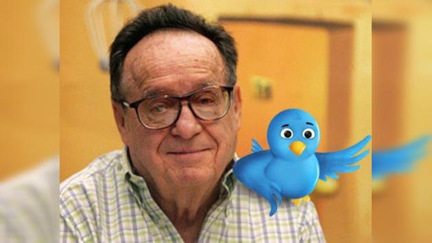 'Chespirito' abre su cuenta en la red social Twitter