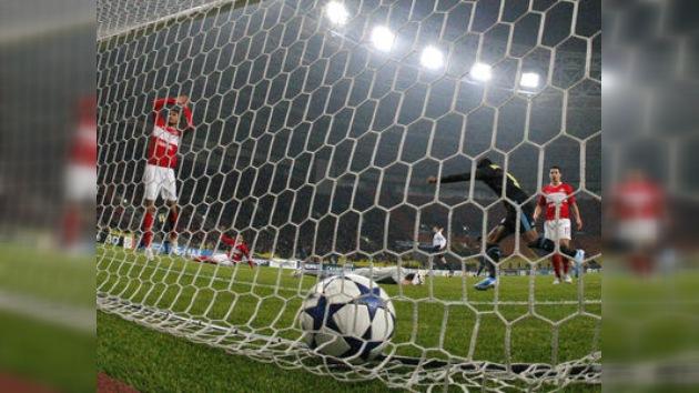 El Spartak cayó goleado en casa y dijo adiós a la Liga de Campeones