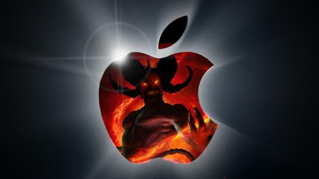 Manzana diabólica: En Rusia cambian el 'anticristiano' logo de Apple por cruces