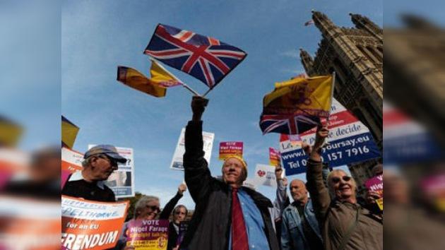 El Reino Unido le dice 'no' a una consulta popular sobre su permanencia en la UE