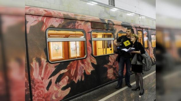El metro ruso se convertirá en una gran galería de fotos