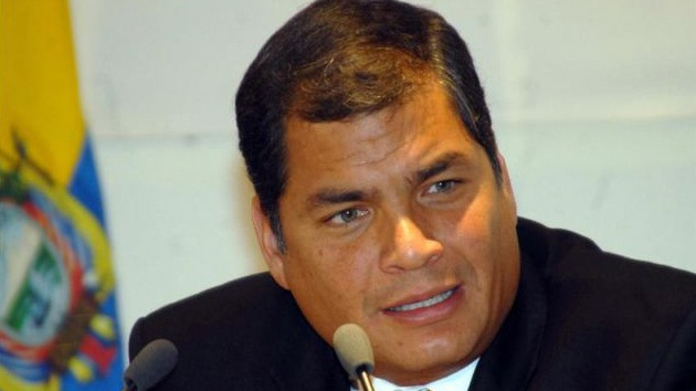 """Correa: """"Estamos contra el intervencionismo, políticas abusivas, el espionaje"""""""