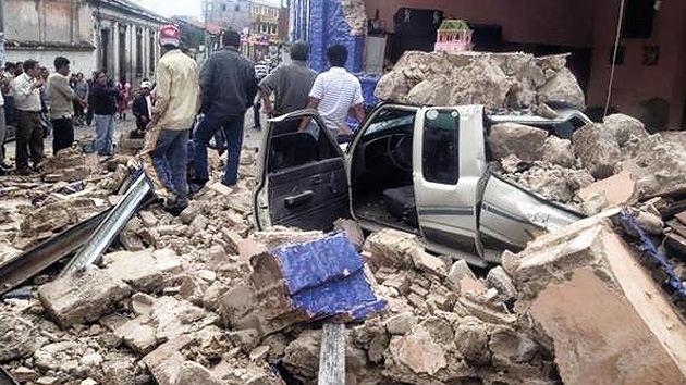 Fotos: decenas de muertos y un centenar de desparecidos tras el terremoto en Guatemala