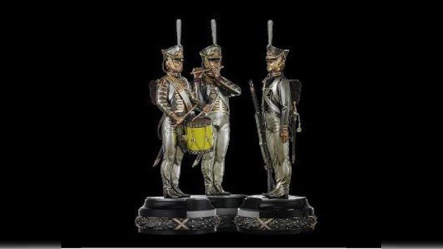 Las batallas napoleónicas en un tablero de ajedrez
