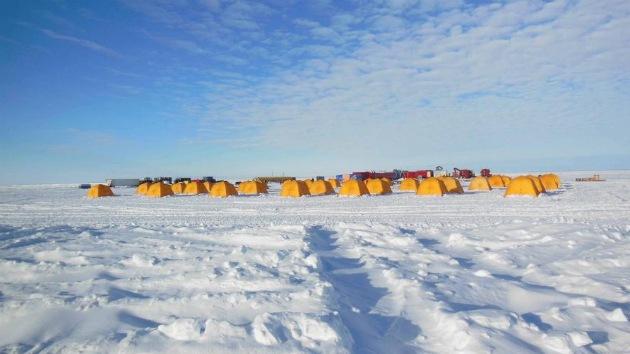 'Pescan' indicios de vida microbiana en un lago subglacial de la Antártida