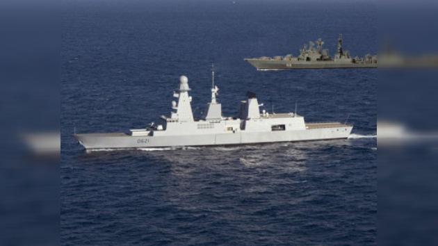 La Marina rusa se entrena a gran escala