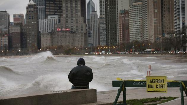 Los escombros que dejó Sandy a su paso
