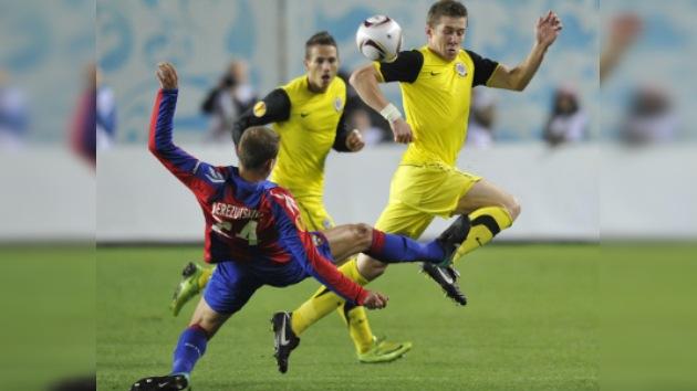 El CSKA y el Zenit pisan fuerte en la Liga de Europa