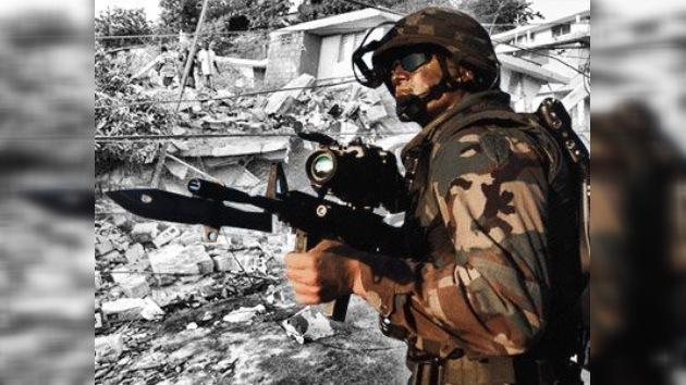 Diez mil soldados de EE. UU. llegan a Haití en ayuda