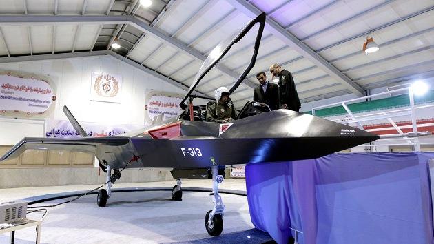 Video, fotos: Irán airea el diseño audaz de su nuevo cazabombardero Qaher-313