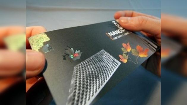 Detrás de la nanotecnología de antifalsificación están las alas de mariposa