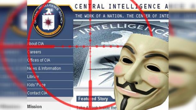 Anonymous 'hackea' el portal web de la CIA