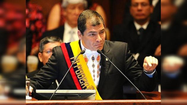 """Rafael Correa no asistirá a la Cumbre de las Américas por """"el boicot de EE. UU. a Cuba"""""""